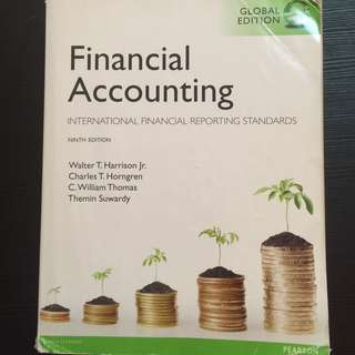 Financial Accounting , International Financial Reporting Standards, 9th edition, Pearson