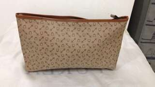 Leather clutch (kulit asli)