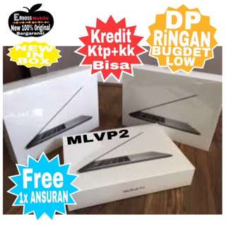 Macbook Pro MLVP2-2016 New Cash/kredit Dp 4jt ditoko ktp+kk wa;081905288895