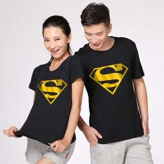 [P.O.] Superman Couple Shirt