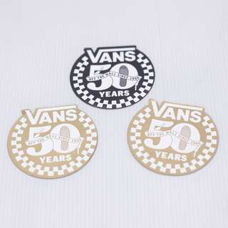 VANS 50 Year Anniversary Sticker in Set