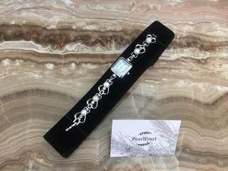 [天然珍珠]Pearl Pearl 珍珠 母親節優惠 手錶鏈 5顆明亮白珍珠 價格$338