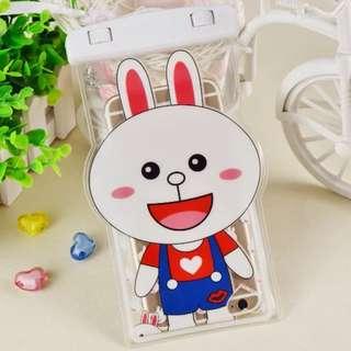 手機防水袋(尺寸5.5寸內都可用) : 小兔款