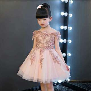 🍃Kids Elegant Lace Dress