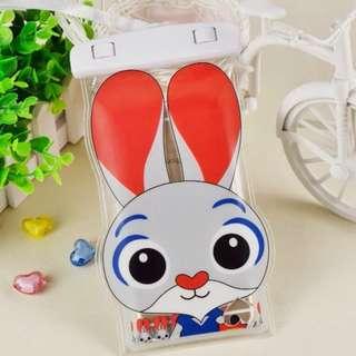 手機防水袋(尺寸5.5寸內都可用) : 長耳兔款