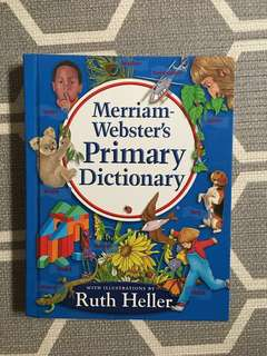 Merriam Webster's Primary Dictionary