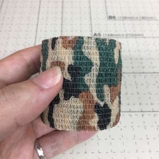 Camouflage 2 inch non stick Gaffer Tape For Lenses