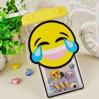 手機防水袋(尺寸5.5寸內都可用) : SMILE笑笑款