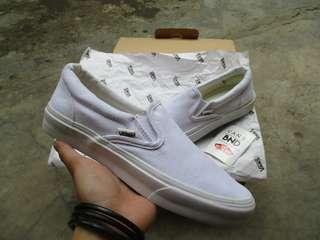 Vans Slip-On All White (Waflee DT)