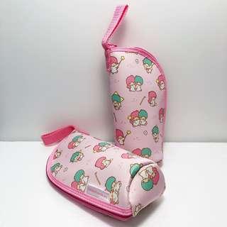 日本 雙子星 Kiki Lala Little Twin Stars 筆袋 化妝包 收納包 手拿包 收納袋