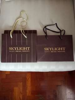 Skylight Carriers/Paper Bags (2 nos)