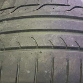 Used 245 40 18 Dunlop Tyres (Made in Japan) for Sale