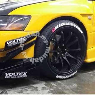 Sticker tyre