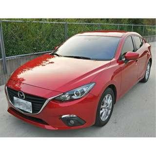 2016年 魂動Mazda3 新車保固中