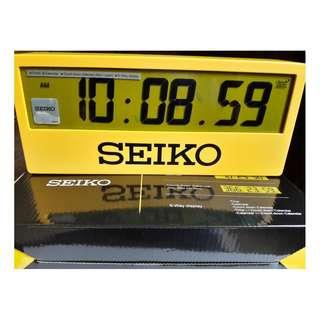 SEIKO QHL073Y 5折出售 深水步有門市全新1年保養有單正版正貨 日期星期 計時 SEIKO 精工