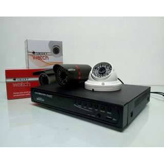 CCTV HD Camera Package with Smartphone viewing and Alarm System
