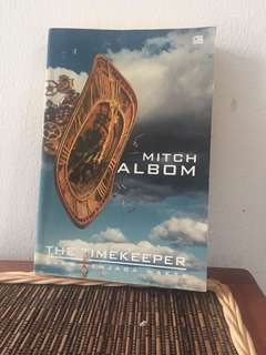 Buku Novel The Timekeeper - Mitch Albom