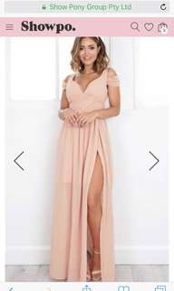 Showpo plus size dress