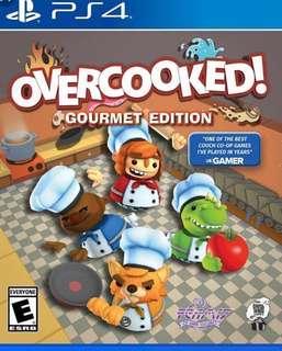 全新PS4 and Switch overcooked 可換game