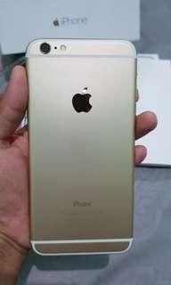 Iphone 6plus 16gb gold ori, mulus, n no minus fullset