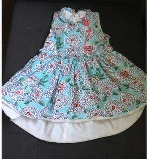 peppermint baby dress