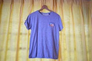 "Topshop ""Life's a Peach"" Petite Shirt"