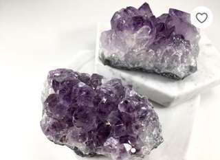 PO Amethyst Healing Crystal