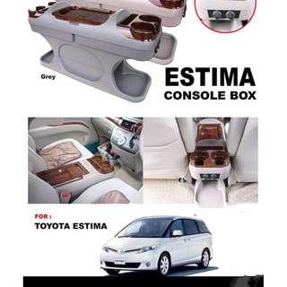 Estima console box