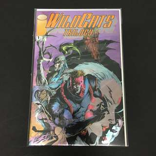 Wild Cats Trilogy 1 Image Comics Book Jim Lee Cartoon Movie