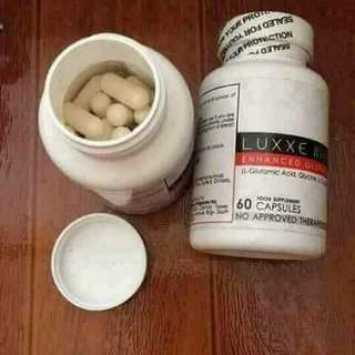 Luxxewhite enhanced. Glutathione