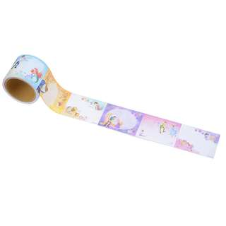 JAPAN DISNEYSTORE, JAPAN IMPORTED: Sticky Pad Roll Series: Disney Princess SIDE BY SIDE series Memo Roll