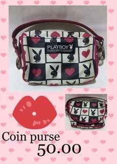 Playboy coin purse