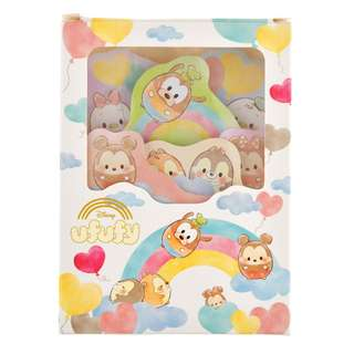 JAPAN DISNEYSTORE, JAPAN IMPORTED: Sticky Pad Series: Disney Ufufy Love Memo Sticky Pad Box