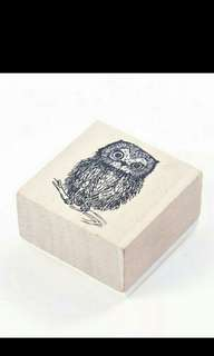 Animal wooden stamp