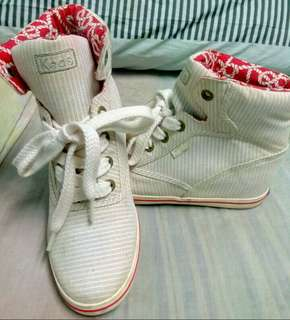 Keds (ROOKIE WEDGE CHAMB TAN TAN)