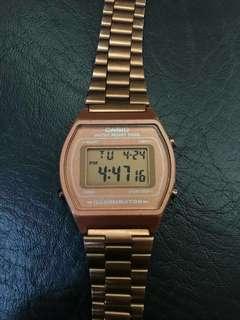 Casio Watch - Rose Gold