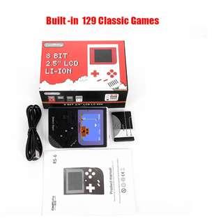 "CoolBaby 8 Bit 2.5"" LCD LI-ION (Black)"