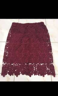 Brokat skirt