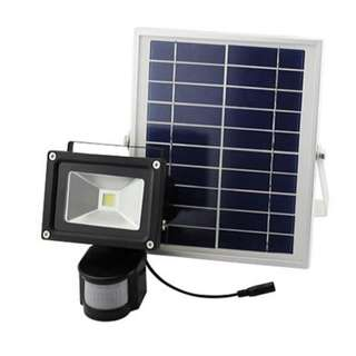 Solar PIR Security Floodlight 50w