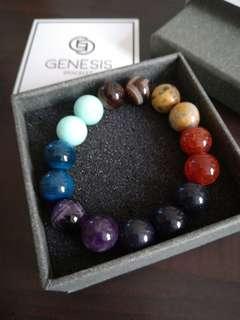 (Free 📮)Genesis crystal aracelet 'Galaxy'
