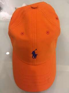 Polo Ralph Lauren Baseball Cap Orange