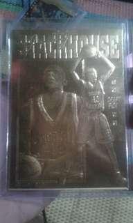Jerry Stackhouse 23karat gold sheet card