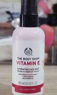 The body shop vitamin E spray
