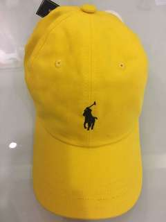 Polo Ralph Lauren Baseball Cap Yellow