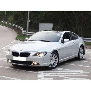 2006 BMW 630 CIA