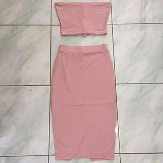 Tube Top and Skirt