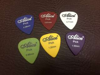Alice Guitar Pick