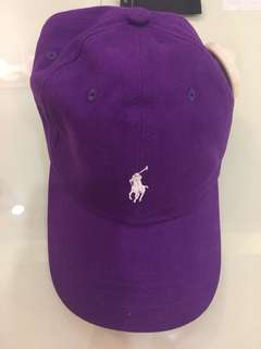 Polo Ralph Lauren Baseball Cap Purple