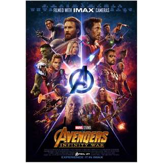 Infinity war imax full sized poster