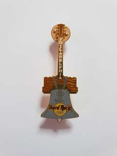 Philadelphia Hard Rock Cafe Guitar Pin, Collectible